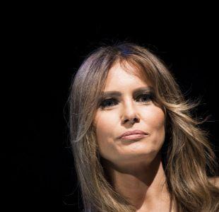 Melania Trump llega por fin a la Casa Blanca