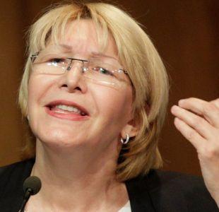 La fiscal general de Venezuela, Luisa Ortega, denuncia amenazas
