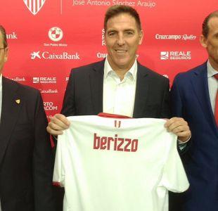 [VIDEO] Berizzo es presentado como reemplazante de Sampaoli en el Sevilla