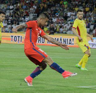 [Minuto a Minuto] La Roja con goles de Edu Vargas y Valencia perdió con Rumania