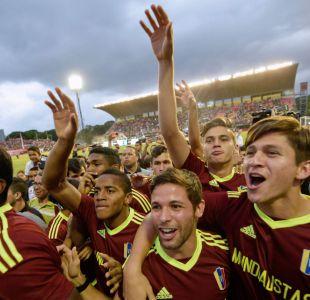 Emotiva bienvenida en Caracas a la selección sub20 de Venezuela