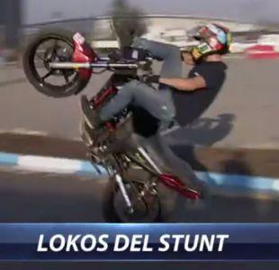 [VIDEO]  Los increíbles trucos de los Lokos del Stunt que disfrutamos en D13Motos