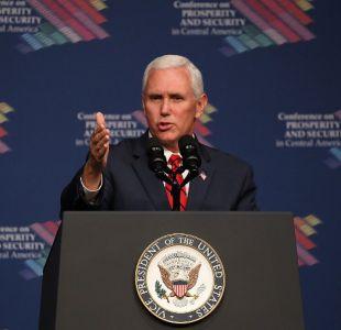 Vicepresidente de Estados Unidos visitará Chile el 16 de agosto