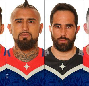 """Jugadores de """"La Roja"""" se toman las fotos oficiales para la Copa Confederaciones"""