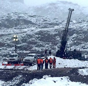 Este es el lugar exacto donde se busca a los mineros en Chile Chico