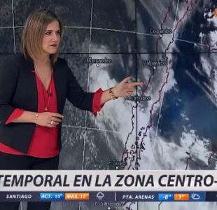 [VIDEO] Lluvia, tormenta eléctrica y nieve: el pronóstico del sistema frontal