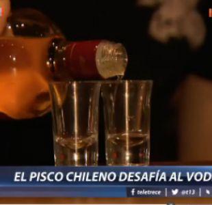 [VIDEO] Chilenos vs. rusos: el pisco desafía al vodka