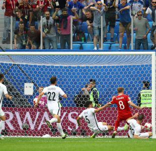 [FOTOS] Las postales del duelo entre Rusia y Nueva Zelanda en Copa Confederaciones