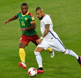[FOTOS] Las postales del debut de Chile ante Camerún en la Copa Confederaciones