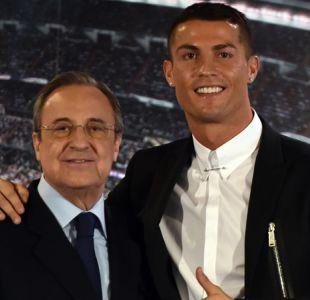 Presidente del Real Madrid respalda a Cristiano Ronaldo y confía en que no se irá de España