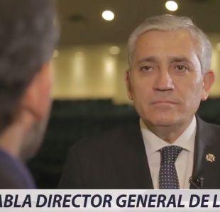 [VIDEO] Habla Director General de la PDI