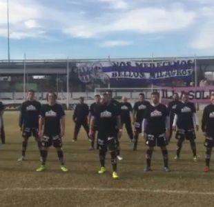 [VIDEO] Sacachispas desafía a su rival con delirante haka al estilo All Blacks