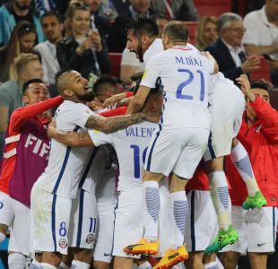 Chile sale a buscar la clasificación ante Alemania en Copa Confederaciones