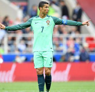 [VIDEO] El show de Cristiano Ronaldo: El astro portugués se roba las miradas en Rusia