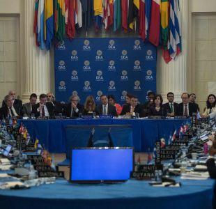 EE.UU logra apoyo en la OEA para desconocer la reelección de Maduro
