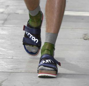 Las sandalias con calcetines, el último grito de la moda