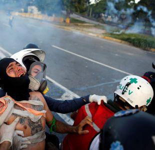 Joven muere por disparo durante disturbios en base militar de Caracas
