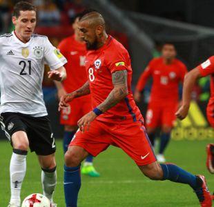 [VIDEO] Tuvo su partido aparte: La especial noche de Arturo Vidal ante Alemania