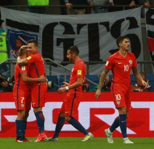 [VIDEO] Así se vivió empate de Chile ante Alemania a ras de pasto en el Arena Kazán