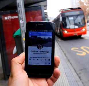 Usuarios del Transantiago podrán saber cuándo viene su bus a través de Facebook y Telegram