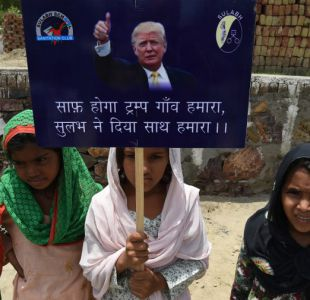 Un pueblo de India cambia de nombre y se llamará Trump