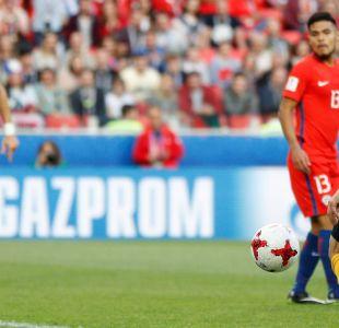 [VIDEO] Con este gol Australia está venciendo a Chile en Copa Confederaciones