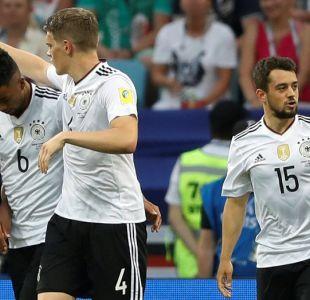 Alemania apabulla a Camerún y gana el Grupo B de la Copa Confederaciones