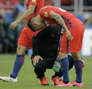 [VIDEO] Charles Aránguiz preocupa a Pizzi para el duelo ante Portugal