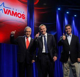 [Minuto a Minuto] Piñera, Kast y Ossandón se enfrentan en debate de Chile Vamos