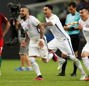 Chile a la final: Vence en penales al Portugal de Cristiano Ronaldo y va por la Copa Confederaciones