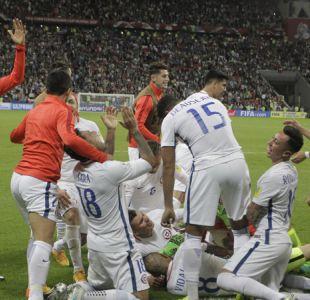 [VIDEO] La alegría de Bachelet y sus ministros tras la clasificación de Chile a la final