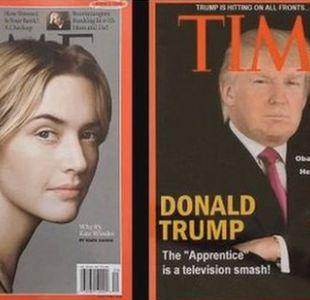 ¿Cómo un periodista descubrió que es falsa la portada de Trump en la revista Time?