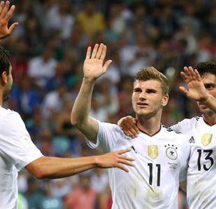 [VIDEO] La gran jugada colectiva que significó el 3-0 de Alemania sobre México