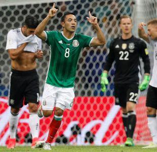 [VIDEO] El feroz misilazo de México para poner el gol del honor ante Alemania