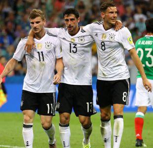 Tres jugadores alemanes lideraron tabla de goleadores de la Copa Confederaciones