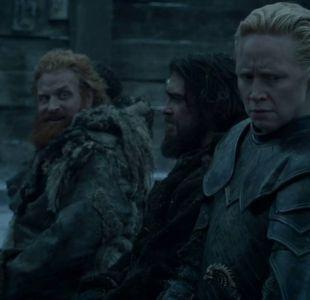 Game of thrones: la extraña escena de Tormund y Brienne que fue eliminada de la nueva temporada