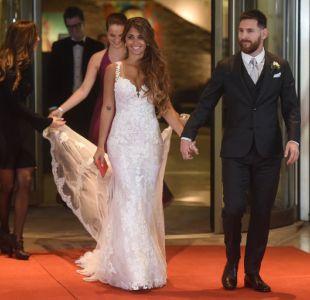 [FOTOS] Las imágenes y looks que dejó la boda de Lionel Messi