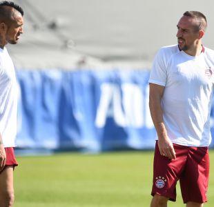 """[VIDEO] Franck Ribery: el mayor hincha del """"Rey"""" Arturo"""