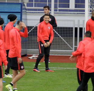 [FOTOS] Así se vivió el último entrenamiento de La Roja antes de la final de Copa Confederaciones