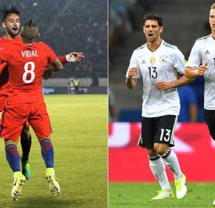 Chile buscará ante Alemania su tercera copa en la final de la Confederaciones por Canal 13