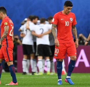 """""""Generación Dorada"""" de Chile pierde su primera final ante Alemania en Copa Confederaciones"""