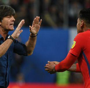 """DT de Alemania destaca a """"La Roja"""": """"Estábamos un poco nerviosos, los chilenos no se rindieron"""""""