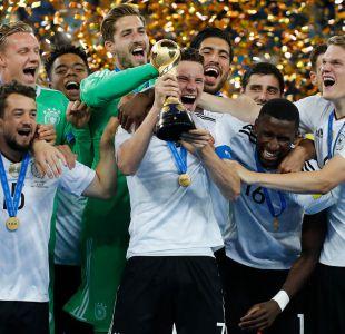[VIDEO] Alemania levanta su primera Copa Confederaciones en Rusia 2017