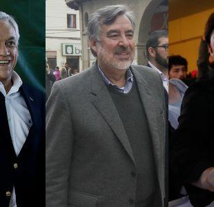 Adimark: Piñera se consolida en el primer puesto y Sánchez acorta ventaja con Guillier