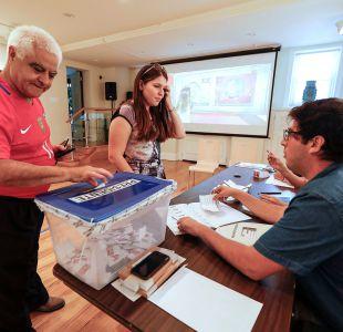 Radiografía al debut del voto chileno en el extranjero