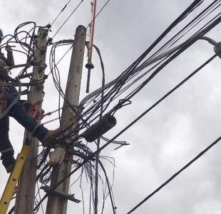 Enel activa plan preventivo por lluvias en la RM y pide prudencia a sus clientes