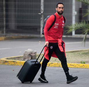 """[VIDEO] Jugadores de """"La Roja"""" llegan a Chile tras Copa Confederaciones"""