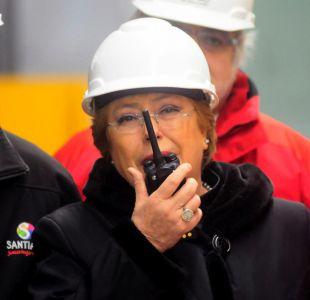 """""""Le cargo la Bip!"""", el gracioso diálogo entre Bachelet y la cuenta de Metro en Twitter"""