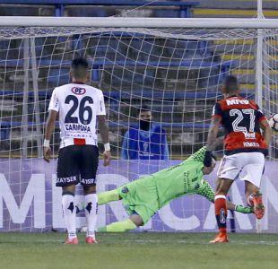 Palestino paga caro sus errores y es goleado por Flamengo en la Copa Sudamericana