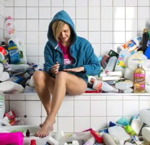 [VIDEO] ¿Cuánta basura puede acumular una persona en 4 años?